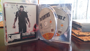 Infamous 1 and 2 ps3 game