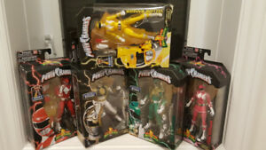 Legacy Power Rangers LOT (incl. Green, Red and more MISB)