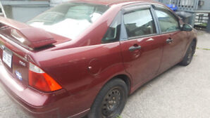 Ford focus ZX4    Model 2006