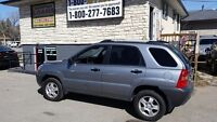 2007 Kia Sportage EVERYONE APPROVED FWD $500 DN YOUR APPROVED