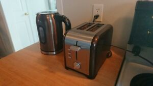 Modern Style Digital Kettle & Toaster