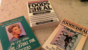 Maureen Salaman, 3 Books, Foods That Heal, Etc., Kitchener / Waterloo Kitchener Area image 1