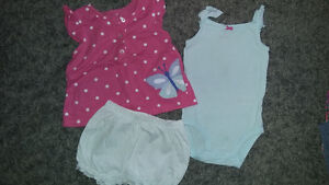 9 & 12month summer clothing