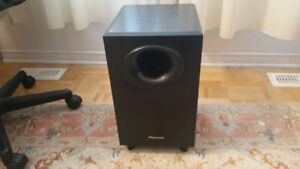 SUBWOOFER CAISSON GRAVE ACTIVE PIONEER S-W20