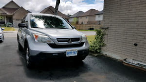 2009 Honda CRV with safety and emission