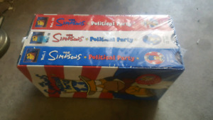 Simpsons VHS Movies Box Set