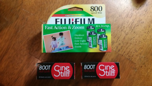 Fresh 35 and 120 film. Trade for Olympus 28 3.5
