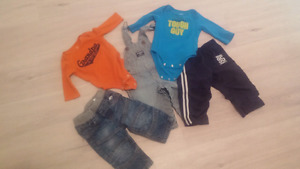 Baby boys size 6 month lot $8 for all