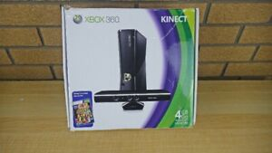 Xbox 360 S 4GBGO 250GBHDD with Kinect