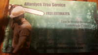 Allardyce Tree Service And Stump Grinding