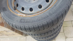 Full set(4)winter tires in very good condition