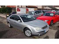 2003 03 FORD MONDEO 2.0 TDCi LX 115 5 DOOR.NEW CLUTCH AND FLYWHEEL,GREAT MPG.