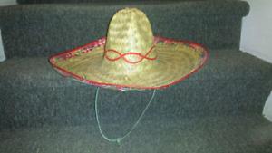 Chapeau de paille sombrero