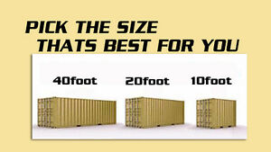 Portable Storage Container Sale, Rental and Moving packages
