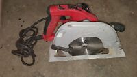 "Milwaukee 7 1/4"" Circular Saw Adjustable Handle Tilt Lok 6390"