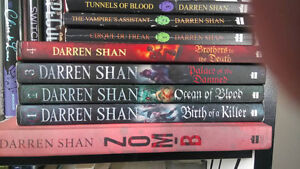 Darren Shan young adult books