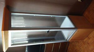 """6"""" ft glass display case/stand"""