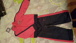 Girl Nike track suit