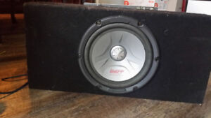 """Subwoofer 10"""" with Kenwood Amplifier"""