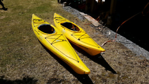 His & Hers Kayaks to trade for your kayaks