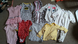 assorted 12-18 month bag of girls clothes