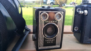 Vintage photography equipment and collectibles