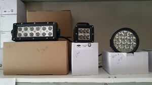 3 to 8 inch led lights with mounting hardware brand new