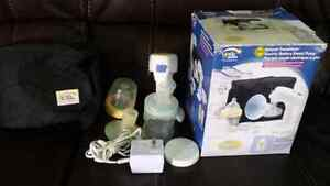 Electric/Battery Breast Pump and  Wipe Warmer