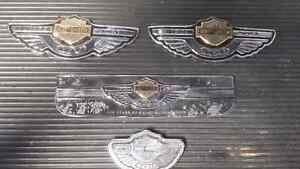 100th Anniversary Harley Davidson badges