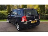2013 Vauxhall Zafira 1.6i (115) Exclusiv 5dr Manual Petrol Estate