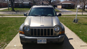 2005 JEEP LIBERTY MANUAL TRANSMISSION 6 SPEED