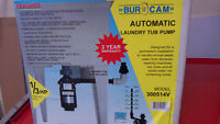 POMPE DE CUVE AUTOMATIQUE (Automatic laundry tub pump)  Bur-Cam