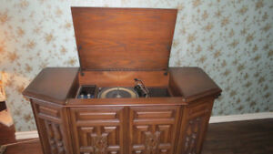 MEUBLE STEREO CABINET VINTAGE