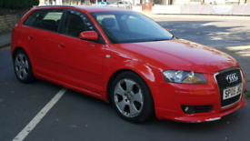 RARE FULLY LOADED AUDI A3 2.0 TDI SPORTBACK S3 SLINE REPLICA for sale  Shipley, West Yorkshire
