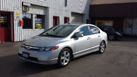 2008 Honda Civic 5 Speed 181,000km SUNROOF/ALLOYS Safety/E-test! Kitchener / Waterloo Kitchener Area Preview