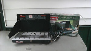 two burner Coleman stove.used