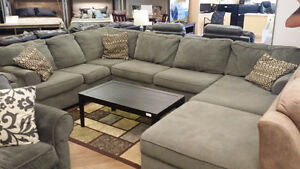 Previously Enjoyed Loric Smoke Sectional