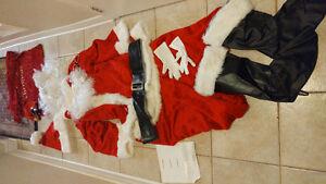 Complete santa suit