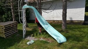 Above Ground Water Slide