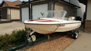 14 foot boat with 55 hp Chrysler motor