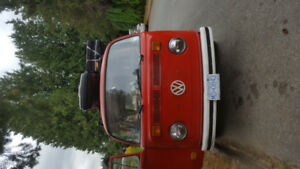 1972 vw van red