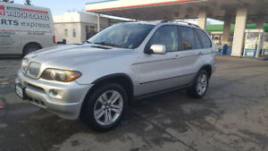 BMW X5 2006 3.oltr, Silver color