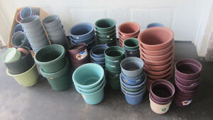 Plant flower pots - LOT never used