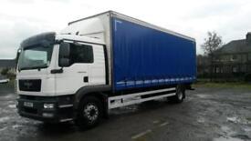 2011 MAN TGM 18.250 18 tonne curtain, Sleeper Cab, tuck away tail lift,