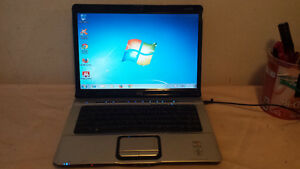 Used HP DV6000 Laptop with Webcam and Wireless for Sale