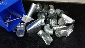 Various Sheet Metal Duct Fittings