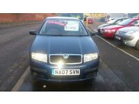 SKODA FABIA 1.2 CLASSIC 5 DOOR VERY LOW MILES F.S.H ONLY £14 WEEK P/LOAN 2007