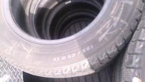 195/65/15 Michelin X-ICE tires
