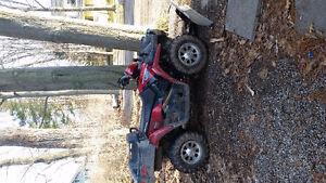 Polaris sportsman 800 vtwin x2 with plow