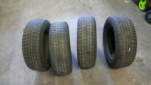 * Michelin Pilot Alpin winter tires 205 65 15